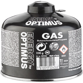 Optimus Tactical Universal Gas Solid Fuel 230g black